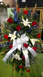 All American Tribute from Kelley's Florist in Lake Placid, FL
