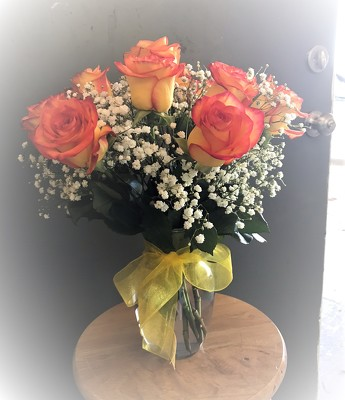 10 Citrus Roses from Kelley's Florist in Lake Placid, FL