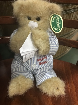Get Well Soon Bear from Kelley's Florist in Lake Placid, FL