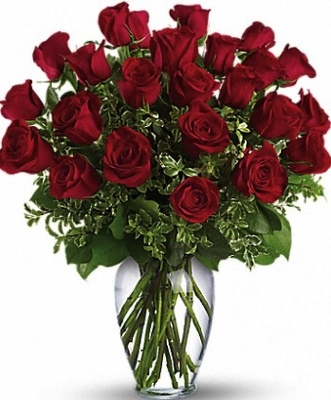 2 Dozen Valentine Roses from Kelley's Florist in Lake Placid, FL
